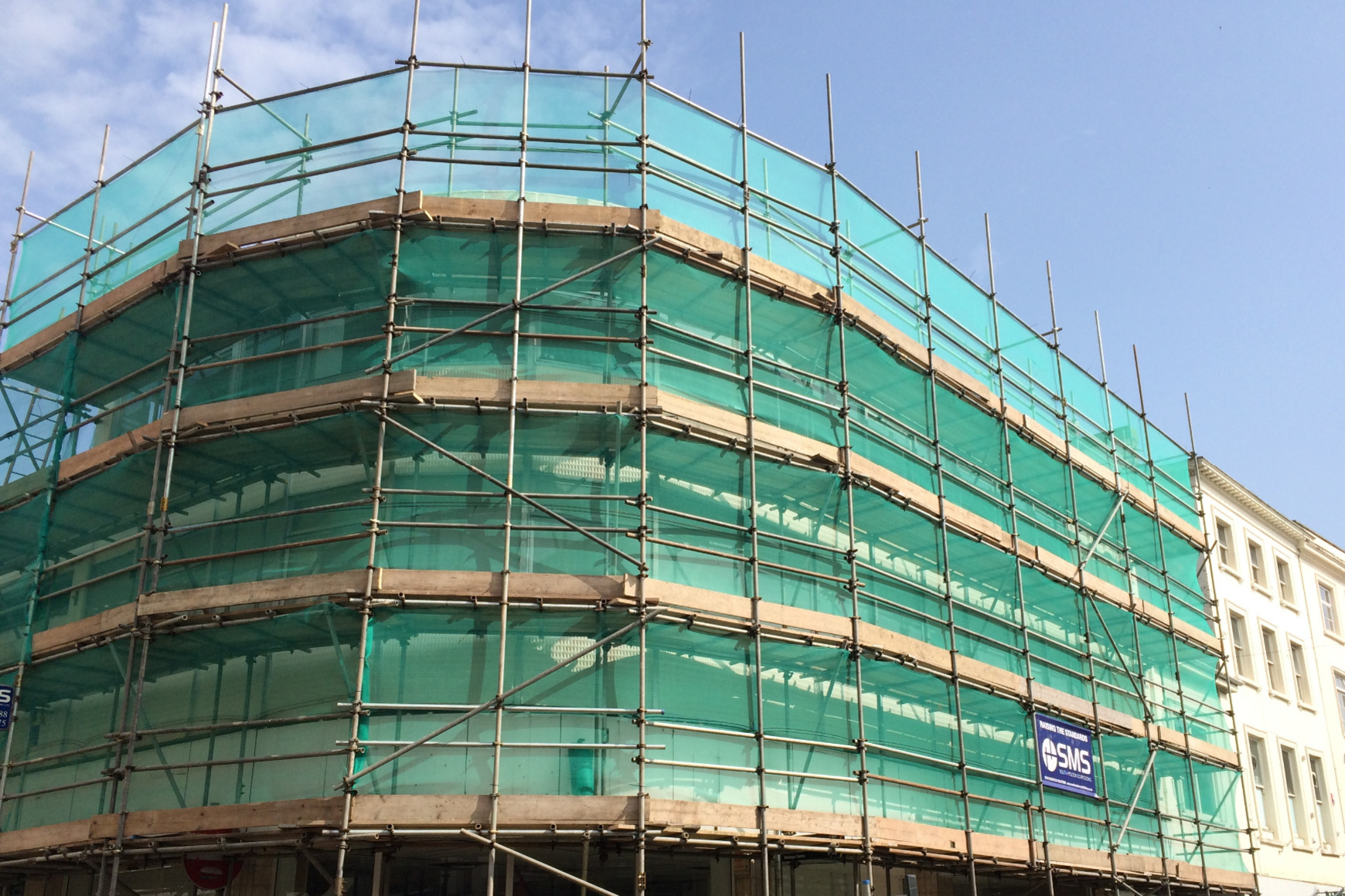 Scaffolding in Barnstaple